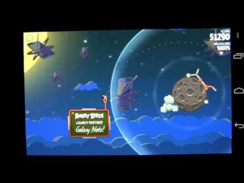 Angry Birds Space Android App Review (FREE Apps) - CrazyMikesapps - 동영상