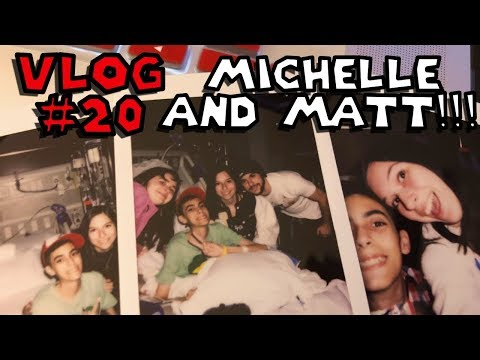 Vlog #20 - Michelle and Matt!!! - SuperSkip64