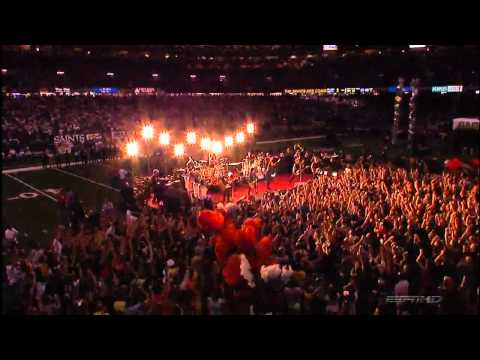 Green Day & U2 The Saints Are Coming (Live New Orleans) H.D