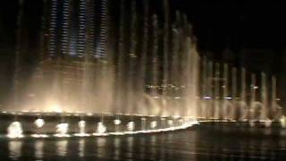 The Dubai Fountain - Baba Yetu (Burj Khalifa)