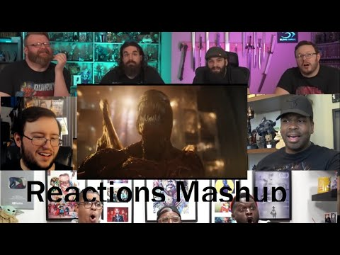 VENOM LET THERE BE CARNAGE  Official Trailer 2  REACTIONS MASHUP