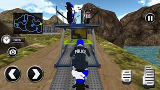 Offroad Police Bike Transport / Android Game / Game Rock