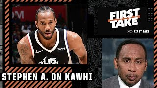 Stephen A has serious concerns about investing in Kawhi Leonard long-term
