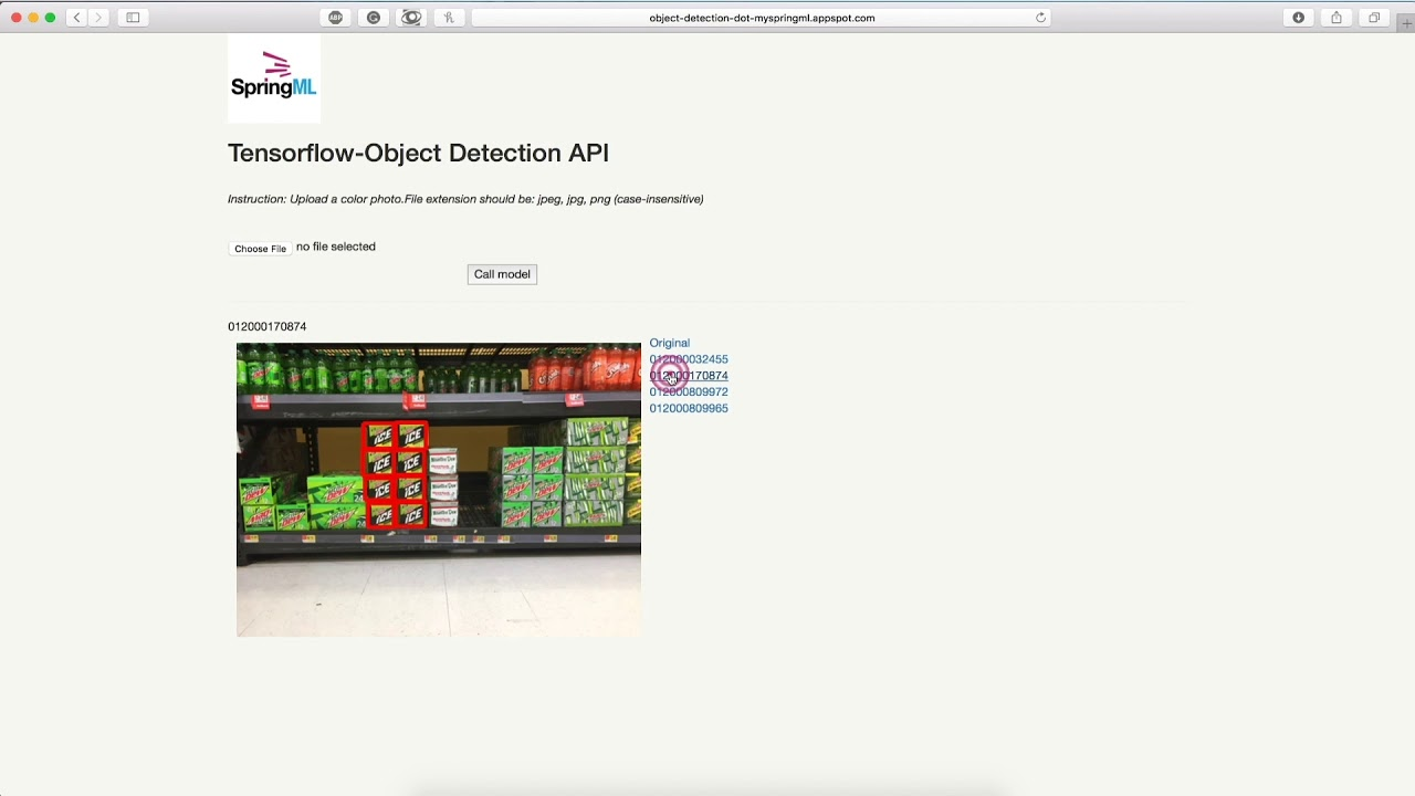 Object detection model for detecting 30 different classes