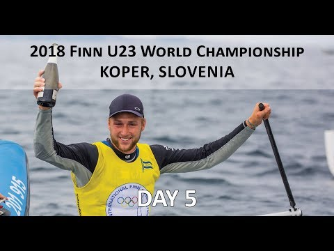 Highlights from Day 5 at the U23 Finn World Championship in Koper, Slovenia