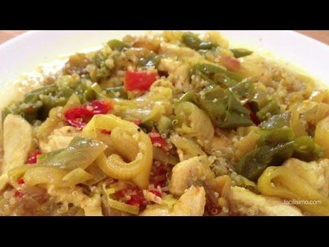 C mo hacer quinoa con pollo y verduras for Cocinar quinoa con pollo