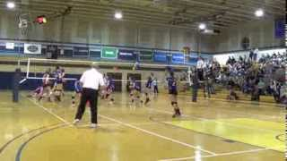 Danielle Valenza Hauppauge Suffolk County Volleyball Playoffs 2013