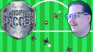MicroProse Soccer (Amiga) | I WANTED TO BE A SOCCER SUPERSTAR