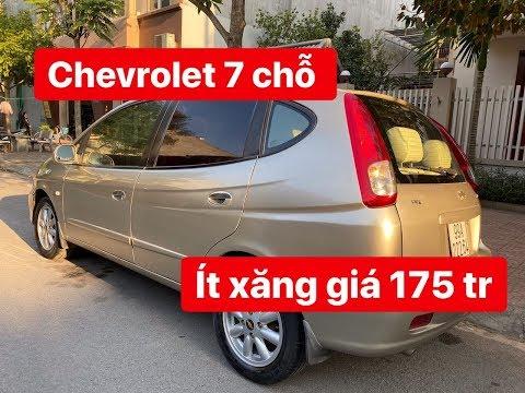 Bán Chevrolet Vivant 7 Chỗ, 2008, Bản đủ Giá 170 Tr, Xe Có 2 Dàn Lạnh & Túi Khí & Phanh Abs