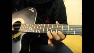 HUDUGARU --- NEERALLI SANNA ALEYONDU SONG ON GUITAR