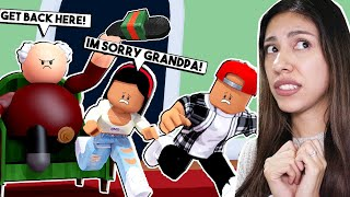 I PRANKED MY GRANDPA AND NOW HE'S MAD! - Roblox - Escape Grandpa's House Obby