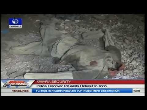 Kwara Security: Police Discover Ritualists' Hideout In Ilorin
