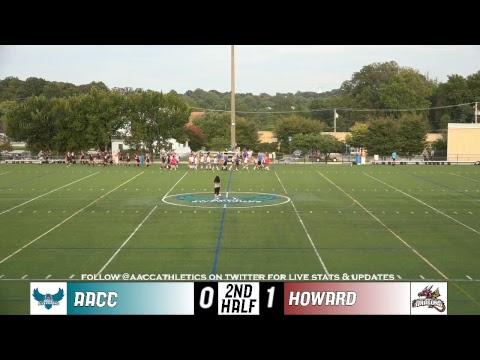 WSOC: 10/2/2018 AACC Riverhawks vs. Howard Community College Dragons