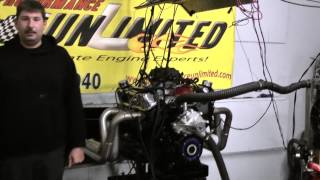 427w sbf big bore stroker engine