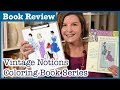 Vintage Notions Coloring Book Series Review