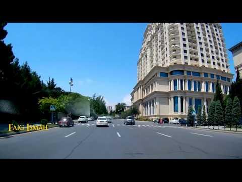 Баку ещё одна развилка на улице Советской проспект Нариманова