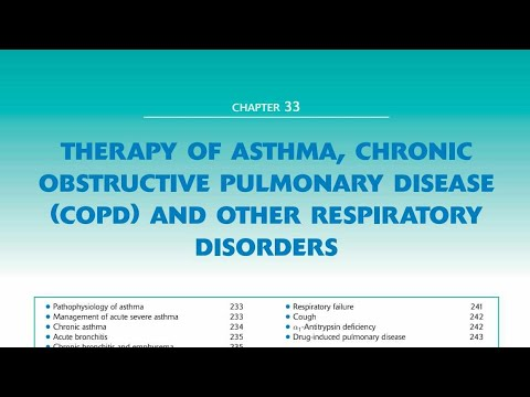 Therapy of Asthma ,Chronic Obstructive Pulmonary Disease (COPD)&Other Respiratory Disorders