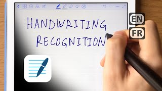 Handwriting recognition in GoodNotes