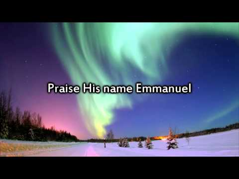 Chris Tomlin - Emmanuel (Hallowed Manger Ground) - Instrumental with lyrics