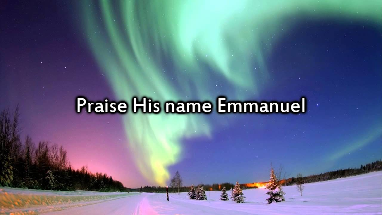 Chris tomlin emmanuel hallowed manger ground instrumental with lyrics