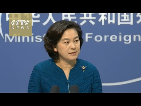 China's foreign ministry calls for restraint amid Korean peninsula tensions