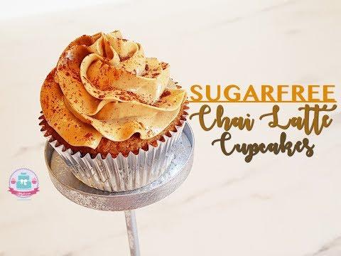 SUGARFREE Chai Latte Cupcakes| Abbyliciousz The Cake Boutique