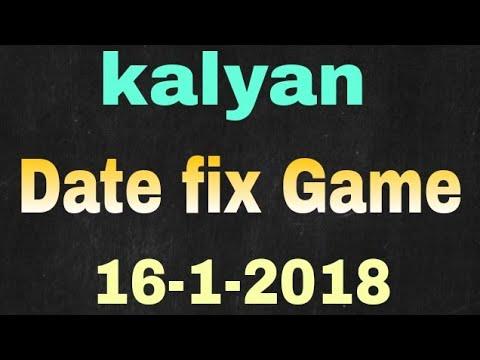 Kalyan date fix game 16-1-2018 play bindhast