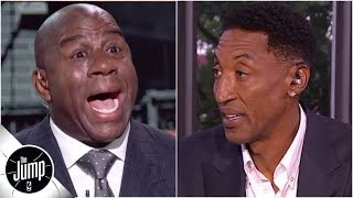 Download Magic Johnson First Take interview reaction: Scottie Pippen on what it means for Lakers | The Jump Mp3 and Videos