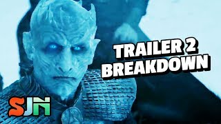 Dragons Roar & Ravens Soar! (Game of Thrones Season 7 Trailer #2 Breakdown)
