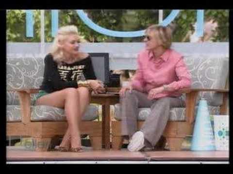 Gwen Stefani Interview on Ellen Show - May 18, 2005