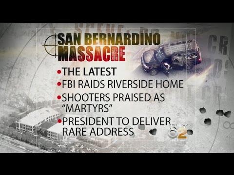 Latest On San Bernardino Massacre: A Raid, A Talk