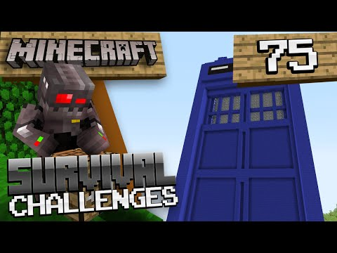 Minecraft Survival Challenges Episode 104: Doctor Who?