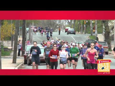 ScotiaBank Blue Nose Marathon Highlights 2011