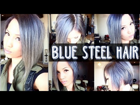 FROM AUBURN TO BLUE STEEL GREY | NEW HAIR COLOR