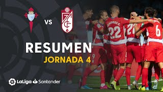 Resumen de RC Celta vs Granada CF (0-2)