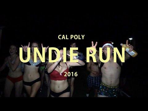 UNDIE RUN — Cal Poly SLO 2016