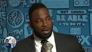 Justin Tuck is now a VP at Goldman Sachs and has money advice for athletes | Jalen & Jacoby