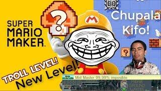 Esto se puso TROLL! + Nuevo Nivel! Super Mario Maker