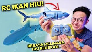 PELIHARA IKAN HIU! NURUT & BISA DIATUR-ATUR 🦈 | SAVAGE SHARK CRUZER SPEED FURY UNBOXING & REVIEW