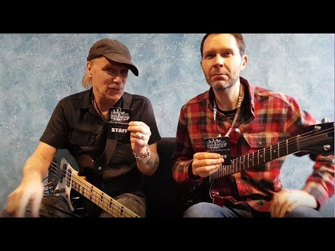 Mr Big - interview Paul Gilbert and Billy Sheehan