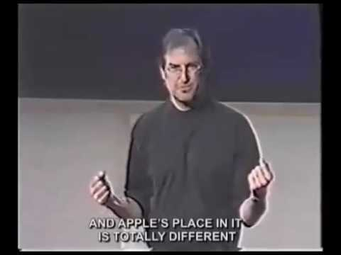 Steve Jobs - Marketing -Apple - people with passion... can change the world for better