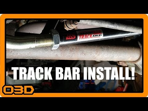 Installing JKS Adjustable Track Bar - Project 2004 Jeep TJ Wrangler - Howto Center Front Axle