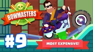 MOST EXPENSIVE CHARACTER! T-666| Bowmasters - Multiplayer Game Part 9 | All Characters