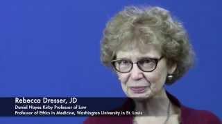 "People & Perspectives: Rebecca Dresser - (excerpt) ""malignant"""