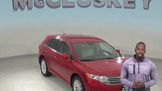 A98964ET Used 2012 Toyota Venza Red Test Drive, Review, For Sale -