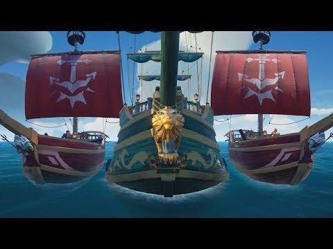 Sea of Thieves - Commanding My Own Fleet!