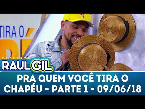 Para Quem Você Tira O Chapéu Com Naldo Benny - Parte 1 | Programa Raul Gil (09/06/18)
