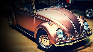 IT'S DONE!! Review of the 1966 Volkswagen Beetle by Tamiya... Buy it!!