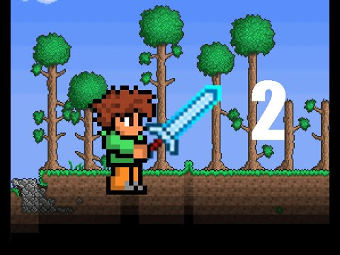 Ep#2 Hardmode Begins, Shadowflame Weapons, and Pirate Invasion! [Terraria Expert Playthrough]