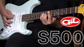 GL tribute S500 Demo Guitarras Custom